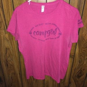 Vista Royalle campgirl shirt XXL pink used